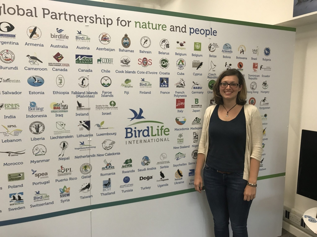 Claudia Hermes bei BirdLife International